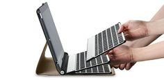 Falls ich doch mal eins kaufe, dann dieses: Writer Plus - Keyboard for iPad