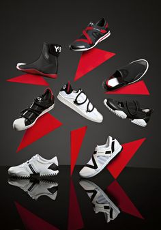 Adidas x Yohji Yamamoto Spring Summer 2012 Fashion Shoes, Kids Fashion, Fashion Accessories, Kids Shoe Stores, Winter Cat, Shoe Display, Yohji Yamamoto, Sport Wear, Designer Shoes
