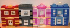 LEGO DUPLO modular buildings