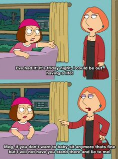 Ooo she torched your ass Meg, she torched your ass!