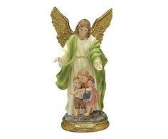 Imagem Anjo da Guarda Dourado - 39cm