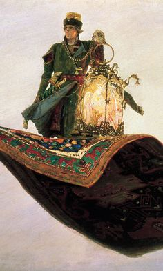 Виктор Васнецов - ковер-самолет, 1880