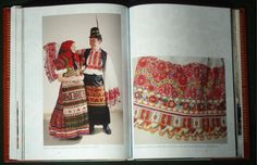 BOOK Hungarian Matyo Folk Art costume embroidery textile ethnic peasant fashion-3