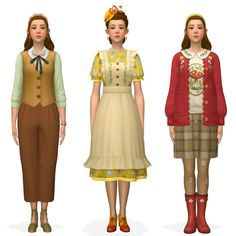 Sims 4 Mods Clothes, Sims 4 Clothing, Sims Mods, Clothing Ideas, Sims 4 Children, Sims 4 Characters, Sims 4 Mm Cc, Sims 4 Cas, Sims 4 Custom Content
