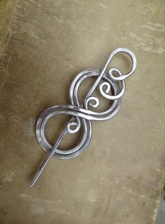 BooKnits Aluminum Shawl Pin Scarf Pin by nicholasandfelice $89.99 hot winter UGG boots - Woman Shoes - Best Collection, cheap ugg boots, ugg boots for cheap, FREE SHIPPING AROUND THE WORLD