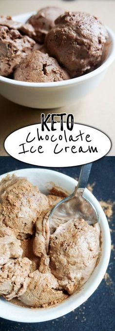 Our Low Carb Ice Cream resembles chocolate gelato with a rich, creamy flavor that will be hard to resist!