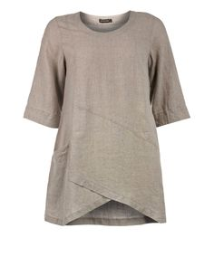 A-line linen tunic by Grizas Tunics- oh wouldn t this be wonderful bdff2cea00c4b
