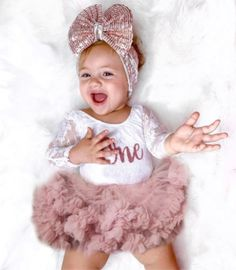 Kryssi Kouture Exclusive First Birthday White Lace Leo Set with Rose G – Ruffles & Bowties Bowtique 1st Birthday Outfit Girl, First Birthday Dresses, First Birthday Themes, Dress First, First Birthdays, Baby Princess Dress, Princess Outfits, Princess Party, Girl Outfits