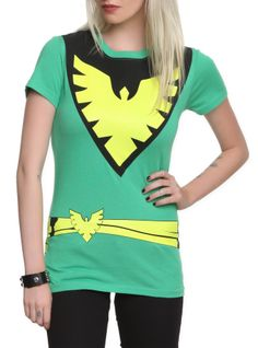 Marvel X-Men Phoenix Costume Girls T-Shirt | Hot Topic