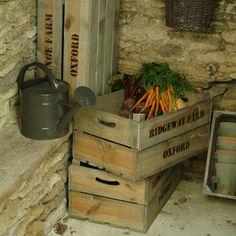 Wooden Fruit Box