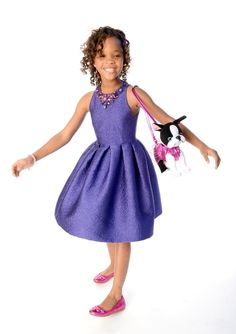 Quvenzhane Wallis at the 85th Academy Awards Nominations Luncheon on Monday February 4, 2013.