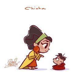 Chicha & baby by David Gilson