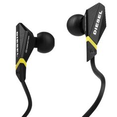 Monster Cable Diesel In-Ear Headphone with Apple Control Talk (Black) in Pakistan | online shopping at magiclamp.pk