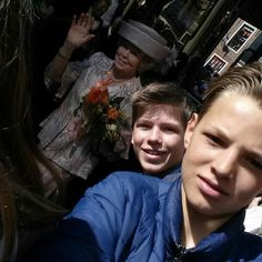 Kingsday 2014, selfies with the royal family.