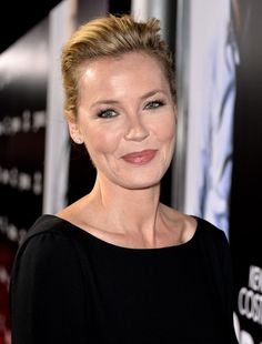 """Connie Nielsen Photos - Actress Connie Nielsen arrives at the premiere of Relativity Media's """"3 Days To Kill"""" at the Arclight Theatre on February…"""