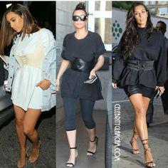 Kim Kardashian corset belt