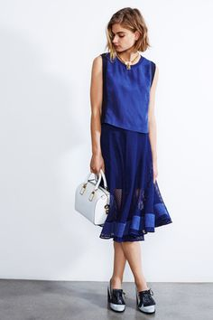 Rebecca Minkoff Resort 2015 Collection Slideshow on Style.com