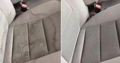 Vlekken in je autobekleding? Met deze super handige trucs is je wagen in mum van tijd weer schoon – Dagelijkseweetjes