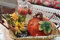 Note Songs: Fall Clocheing With Marty