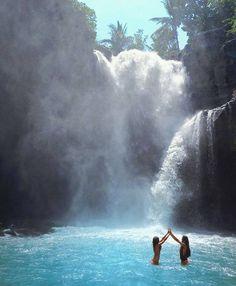 Tegenungan Waterfall Kemenuh, Sukawati, Kec. Gianyar, Bali Photo courtesy of @Imachicnation on #Instagram. #waterfalls #airterjun #kemenuh #sukawati #gianyar #bali #destination