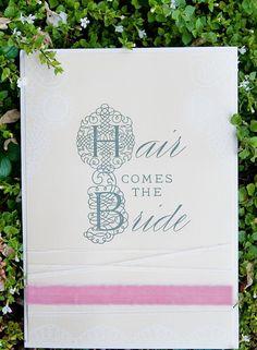 Fairy Tale Tangled Wedding Shoot fun sign ideas