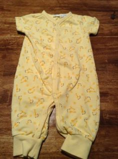 VINTAGE-GYMBOREE-unisex-infant-giraffe-one-piece-sz-3-6m