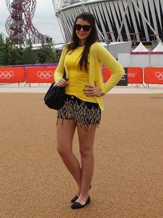 Olimpíada 2012 – Londres – Parque Olímpico, Look do dia: Camiseta do Brasil | Just Lia