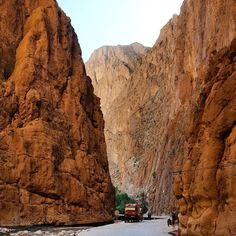 Amazing canyon in Tinghir. #morocco #tinghir #canyon #gorge #todgha #backpacking #solotraveller #travellingtheworld #travelling #africa