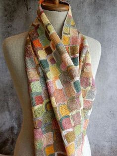 """Pop Synonyms"" Scarf, Sophie Digard"