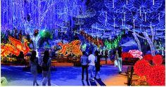 spectacular winter wonderland around the worlds | Global Winter Wonderland Comes To Turner Field