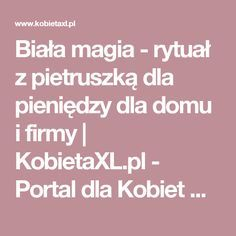 Biała magia - rytuał z pietruszką dla pieniędzy dla domu i firmy   KobietaXL.pl - Portal dla Kobiet Myślących