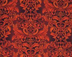 Damask fabric – Etsy