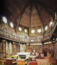The Oxford Union Library, Oxford