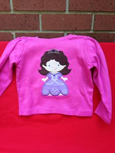 Sophia the First $18 for shirt $10 for doll shirt