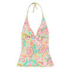 Summer Paisley Swim Tankini