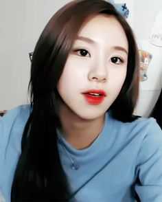 160128 TWICE Chayoung With Long Hair On Vapp