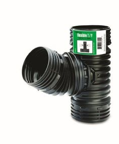 FLEX-Drain 53702 Flexible T / Y, Landscaping Drain Pipe Adapter – Landscape & Drainage