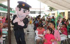 Festeja SSPE día del niño  ·   Con sus padres más de 200 niños convivieron en su día en las instalaciones de la SSPE