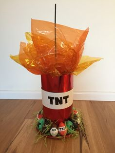 Kyson's 2016 Minecraft TNT Easter Hat