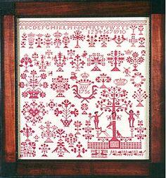 Vierlande Dated 1756, The Scarlet Letter