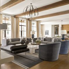 Keeping friends and relatives nearby was key for the design of a California-inspired Dallas house built and furnished for entertaining Luxury Interior, Interior Design, Interior Ideas, Southern Homes, Cabinet Styles, Indoor Outdoor Living, California Style, Visual Comfort, Inspired Homes