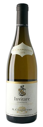 Condrieu White Invitare 2010 Tasted at M.CHAPOUTIER Tain l'Hermitage France.