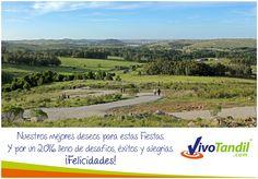 Nuestros mejores deseos para estas Fiestas que comienzan. ¡Muchas felicidades! El Equipo de http://www.VivoTandil.com