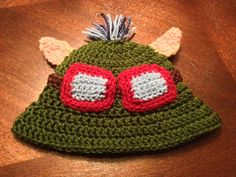 Baby Teemo Hat LOL  FT0038 by FischTales on Etsy