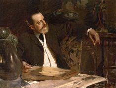 The Athenaeum - ZORN, Anders Swedish Realist (1860-1920)_Antonin Proust- 1888