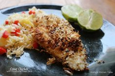 Coconut Chicken with Pineapple Fried Rice | Kathy's Kitchen Table