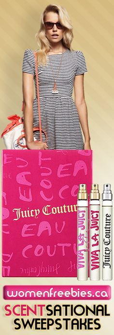 Win a Juicy Couture Fragrance Set from WomenFreebies