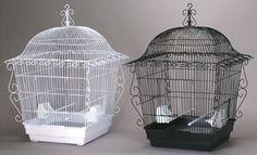 scrollwork birdcage