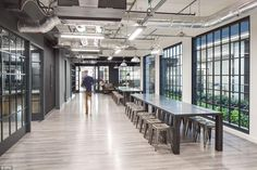 ZPG, London: This is the base for the British firm that controls property website Zoopla and price comparison service U-Switch. It has a games room, plenty of breakout space and a greenhouse-themed meeting room. One employee called it 'out of this world' and paid tribute to the barista, called Bruno