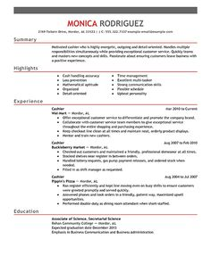 pics photos cashier resume examples supermarket sample resumes design - Examples Of Cover Letters For A Resume